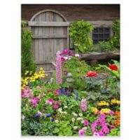 Rustic Garden Outdoor All-Weather Canvas Wall Art