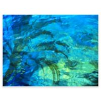 Palm Reflection Outdoor All-Weather Canvas Wall Art