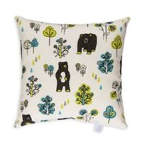 Glenna Jean North Country Bear Print Throw Pillow