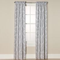 Sweet Jojo Designs Skylar Window Panel Pair in Grey/White
