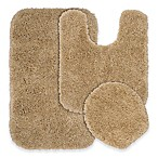 Serendipity 3-Piece Nylon Bath Rug Set in Taupe