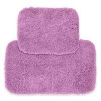 Jazz 2-Piece Bath Rug Set in Purple