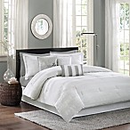 Madison Park Hampton 7-Piece King Comforter Set in White