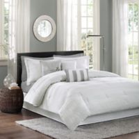 Madison Park Hampton 7-Piece Queen Comforter Set in White