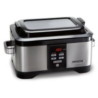 Hamilton Beach® 6 qt. Pro Sous Vide Slow Cooker in Metallic Grey