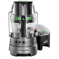 Hamilton Beach® Professional 14-Cup Food Processor in Metallic Grey