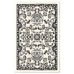 Home Dynamix Maplewood 2-Foot 3-Inch x 3-Foot 7-Inch Area Rug in Ivory