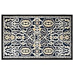 Home Dynamix Maplewood 2-Foot 3-Inch x 3-Foot 7-Inch Accent Rug in Navy