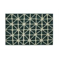 Mohawk Signature Bamboo View 30-Inch x 46-Inch Accent Rug in Sapphire/Cream