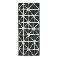 Mohawk Signature Bamboo View 2-Foot x 5-Foot Runner in Sapphire/Cream