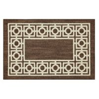 Mohawk Home Signature Davidson 20-Inch x 34-Inch Accent Rug in Brown