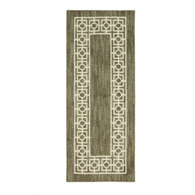 Mohawk Home Signature Davidson 2 Foot X 5 Runner In Khaki