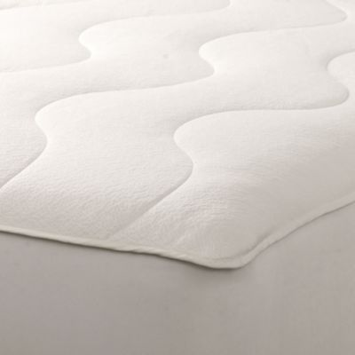 Obac Jacquard Knit Top Waterproof Twin Xl Mattress Protector In Ivory