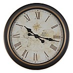 Antique Bronze 24-Inch Wall Clock