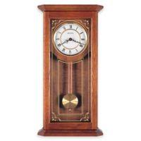 Bulova Cirrus Pendulum Wall Clock in Oak