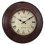Bulova Watford Wall Clock in Aged Bronze