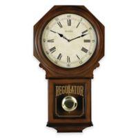 Bulova Ashford Wall Clock in Walnut