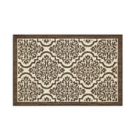Mohawk Signature Palace 1-Foot 8-Inch x 2-Foot 10-Inch Accent Rug in Brown