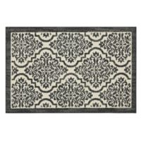 Mohawk Signature Palace 1-Foot 8-Inch x 2-Foot 10-Inch Accent Rug in Denim