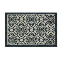 Mohawk Signature Palace 2-Foot 6-Inch x 3-Foot 10-Inch Area Rug in Teal