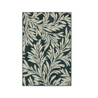 Mohawk Signature Willow 1-Foot 8-Inch x 2-Foot 10-Inch Accent Rug in Teal