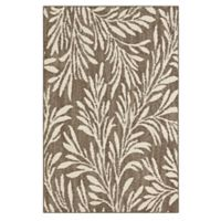 Mohawk Signature Willow 1-Foot 8-Inch x 3-Foot 10-Inch Accent Rug in Khaki