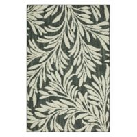 Mohawk Signature Willow 2-Foot 6-Inch x 3-Foot 10-Inch Area Rug in Denim