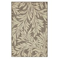 Mohawk Home Signature Willow 2-Foot 6-Inch x 3-Foot 10-Inch Area Rug in Grey