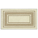 Walker Border 1-Foot 8-Inch x 2-Foot 10-Inch Accent Rug in Cream