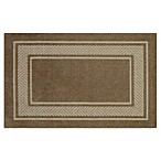 Walker Border 2-Foot 6-Inch x 3-Foot 10-Inch Area Rug in Toast