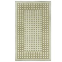 Bacova Woven Natural Terra Checks 26-Inch x 46-Inch Accent Rug in Brown/Ivory