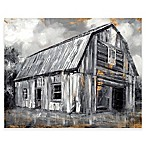 Copper Barn II Medium Canvas Wall Art