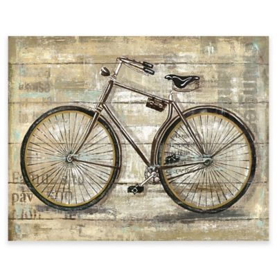 Bicycle Wall Art buy large wall art from bed bath & beyond