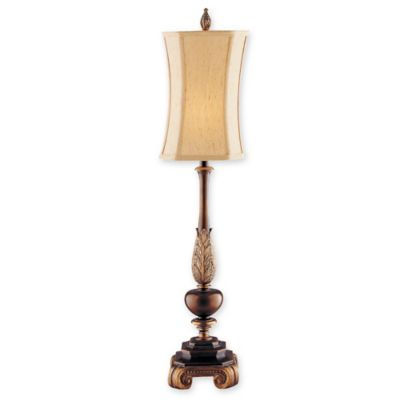 Stein World Sweet Ginger Buffet Lamp in Pewter with Square-Cut Corner Shade - Buy Buffet Lamp Shades From Bed Bath & Beyond
