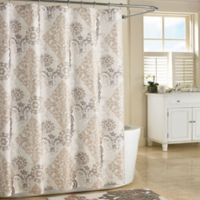 J. Queen New York™ Galileo Shower Curtain Stall in Natural