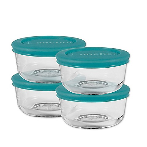 Anchor Hocking 8-Piece 1-Cup Round Basic Food Storage Set  sc 1 st  Bed Bath u0026 Beyond & Anchor Hocking 8-Piece 1-Cup Round Basic Food Storage Set - Bed Bath ...