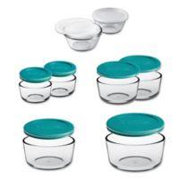 Anchor Hocking 16-Piece Basic Food Storage Set