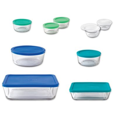 Anchor Hocking 20 Piece Basic Food Storage Set Bed Bath Beyond