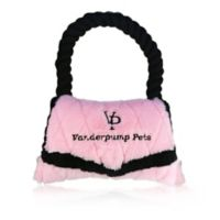 VANDERPUMP Beverly Hills Pouch Plush Pet Toy