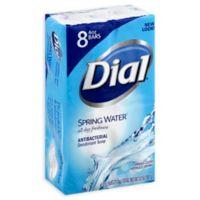 Dial® 8-Pack 4 oz. Antibacterial Deodorant Soap in Spring Water®