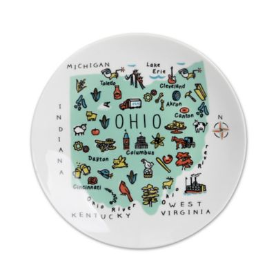 my place ohio appetizer plates set of 4 - Horderves Plates