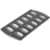 Wilton® Advance® Select Nonstick 12-Cavity Madeleine Pan in Gunmetal