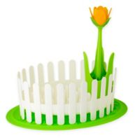 Flower Power Dish & Cutlery Drainer Set with Dish Mat