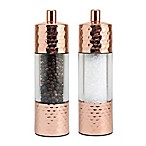 Olde Thompson Salt & Pepper Mills in Copper (Set of 2)