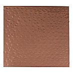 Thirstystone Individual Dolomite Coaster in Penny Hammered Copper