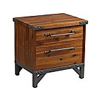 INK+IVY® Lancaster 2-Drawer Nightstand in Amber