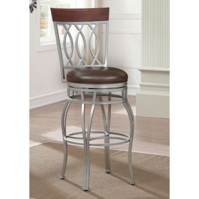 Buy Crosley Pruitt Swivel Counter Stool In Black From Bed