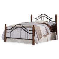 Hillsdale Madison Full Bed Set without Rails in Black