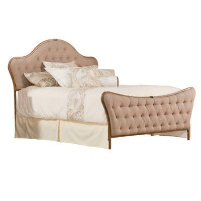 Hillsdale Jefferson King Bed Set In Antique Beige