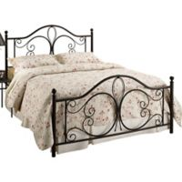 Hillsdale Milwaukee Queen Bed Set in Brown